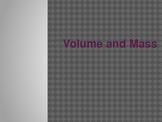Volume and Mass-3rd Grade Math Mesurement