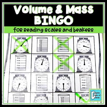 Volume and Mass BINGO