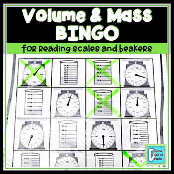 Volume and Mass BINGO