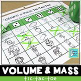 Metric Volume and Mass Tic-Tac-Toe Game