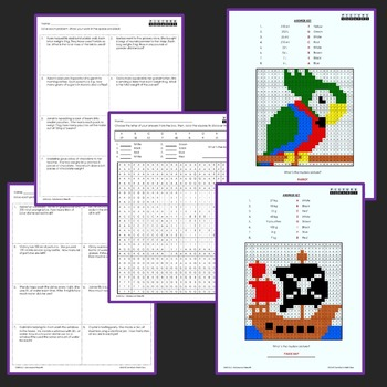 3rd Grade Worksheets - Volume and Mass Word Problems Worksheets
