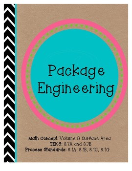 Volume and Surface Area (Engineering Project)