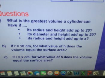 Volume and Surface Area Flipchart