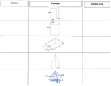 Volume and Surface Area Foldable