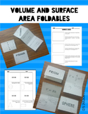 Volume and Surface Area Foldable Package