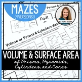 Volume and Surface Area Mazes
