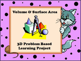 Volume and Surface Area Project Based Learning 3D Project