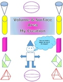 Volume and Surface Area Project