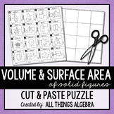 Volume and Surface Area Puzzle