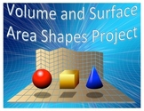 Volume and Surface Area Shapes Project
