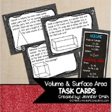 Volume and Surface Area Task Cards