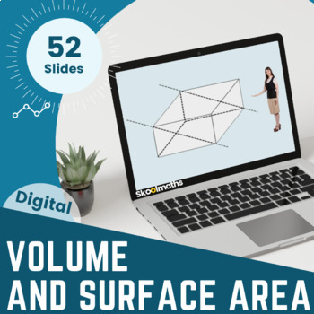 Volume and Surface Area -  US Grade 9-10, (GCSE 9-1)