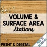 Volume & Surface Area of Prisms & Pyramids Print & Digital