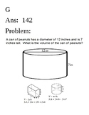 Volume and Surface Area of Rectangular Prisms and Cylinders Carousal  SOL 7.4ab
