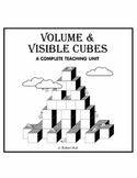 Volume and Visible Cubes (Common Core Standards)