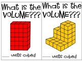 Volume (counting cubes) task cards