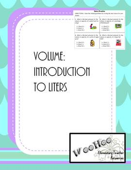 Volume in Liters