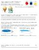 Volume of 3-D Figures Assessment - 8.G.9