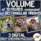 Volume of 3D Figures Composed of Rectangular Prisms SELF-CHECKING DIGITAL PUZZLE