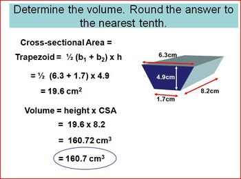 Volume of 3D Objects