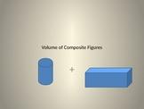 Volume of  Composite Figures