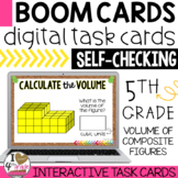 Volume of Composite Figures Boom Cards