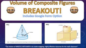 Volume of Composite Figures – Breakout!