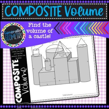 Volume of Composite Figures: Castle Volume; Geometry