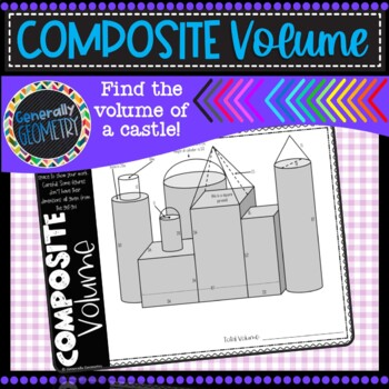 Volume of Composite Figures: Castle Volume; Geometry