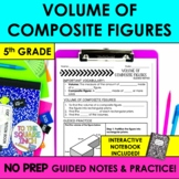 Volume of Composite Figures Notes