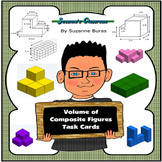 Volume of Composite Figures Task Cards
