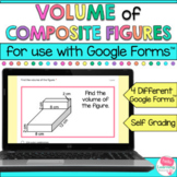 Volume of Composite Figures for Google Forms™