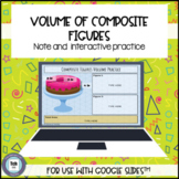 Volume of Composite Figures for use with Google Slides™