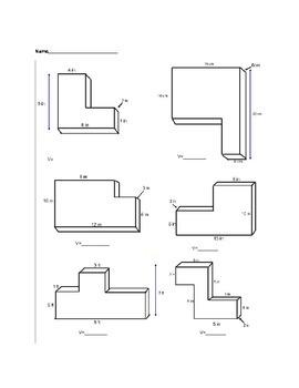 Volume of Composite Rectangular Prisms
