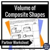 Volume of Composite Shapes Partner Worksheet 5.MD.5c