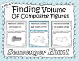 Volume of Composite Shapes - Scavenger Hunt (5.MD.C.5c)