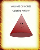 Volume of Cones Color By Number Activity (8.G.C.9)