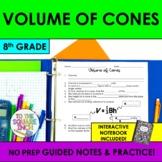 Volume of Cones Notes
