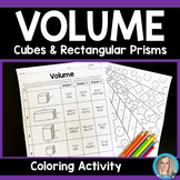 Volume of Cubes and Rectangular Prisms Activity: 6.G.2
