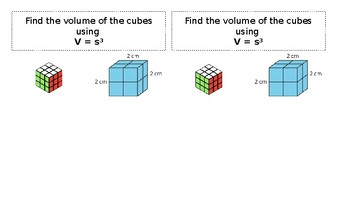 Volume of Cubes and Rectangular Prisms Notes
