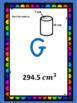 Volume of Cylinders Scavenger Hunt Google Digital Activity