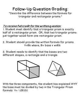 Volume of Cylinders and Prisms Worksheet by Tiarra's ...