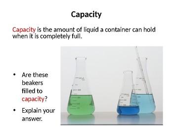 Volume of Liquids