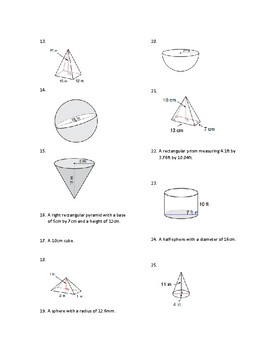 Volume of Mixed Shapes TASC Geometry