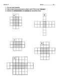 Volume of Open Box B, Geometry Grades 5-6