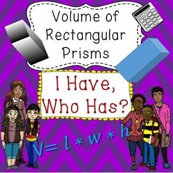 Volume of Prisms
