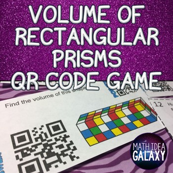 Volume of Prisms Game