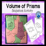 Volume of Prisms Sequence Activity