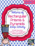 Volume of Rectangular Prisms and Pyramids Loop Activity