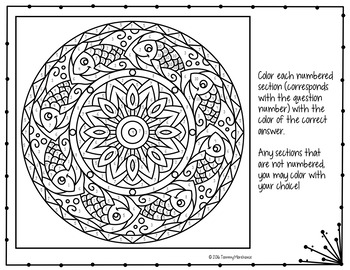 Volume of Pyramids Coloring Page